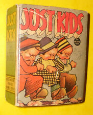Just Kids 1937 Big Little book Great Illustrations! Nice See!
