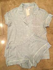 Eberjey Pajama Set Shorts and Top Abstract Animal Print Size Large NWT $120