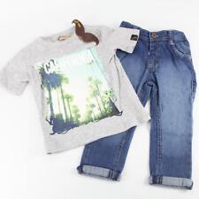 Little Gent California Jeans & T-Shirt Set Edad 2-3 Años-Nuevo con etiquetas