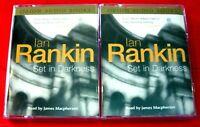 Ian Rankin Set In Darkness Inspector John Rebus 4-Tape Audio Bk James Macpherson