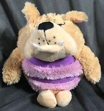 "KooKoo Kennel 6"" Barking Plush- Bull Dog Puppy Pup Toy Stuffed Animal B43"