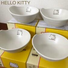 Hello Kitty Limited small bowl set of 4 Size 13.5cm Lawson 2016 NEW