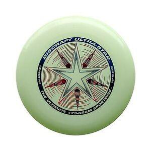 Discraft 175 gram Ultra Star Sport Disc Nite Glo