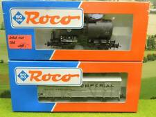 Roco 46097 46143 H0 Ged Güterwagen Imperial + Kesselwagen VTG OVP (FY) B0056