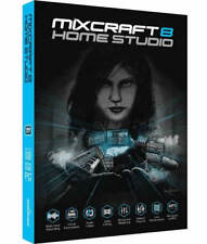 Mixcraft 8 Home Studio by Acoustica, Create Produce Perform - New Retail Box
