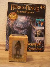 Señor de los anillos-personaje: Shagrat el Cirith Ungol (nº 48) + embalaje original + cuaderno