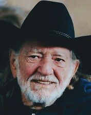 SUPERBE PHOTO WILLIE NELSON  20 X 27 CM - COUNTRY MUSIC LEGEND