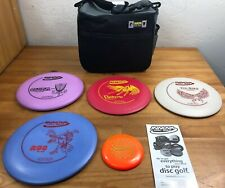 New Frisbee Disc Golf Innova Build Your Own 5 Pack Set w/ Bag
