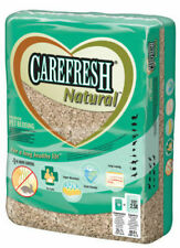 Carefresh Natural Paper Wood Pulp Bedding Small Animal Cage Hutch 60L