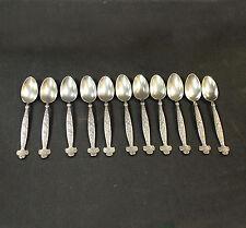 Antique Sterling Silver Spoon Set 11 Piece Gorham