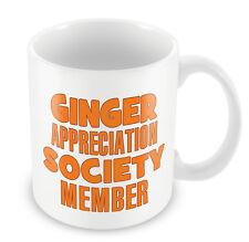 GINGER Appreciation Society Member FUNNY Gift Idea Christmas Secret Santa #108