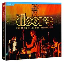 THE DOORS CD - LIVE AT THE ISLE OF WIGHT FESTIVAL 1970 [CD/BLU-RAY](2018) - NEW