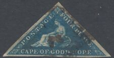 CAPE OF GOOD HOPE 2A 1853 NO FAULTS VERY FINE
