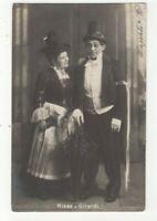 Hansi Niese & Alexander Girardi Austrian Actors 1903 RP Postcard 295c