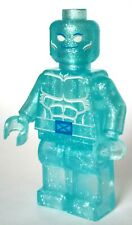 CUSTOM ICEMAN BOBBY DRAKE CLEAR MINI FIGURE MINIFIG SOLD AS IS FREE SHIPPING!