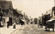 Burnham High Street & Carts.