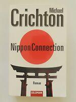 Michael Crichton Nippon Connection Roman Thriller Goldmann Verlag