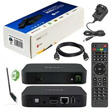 MAG322 + Wifi Dongle H.265 IPTV Set Top Box UK/US/EU Power Genuine Infomir