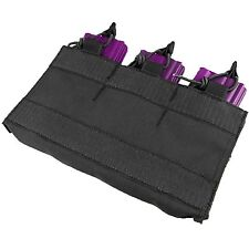 Condor VA6 5.56 Hunting Rifle Magazine Tactical Insert Bungee Triple Pouch Black