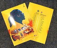 Wolverhampton Wolves v Espanyol EUROPA LEAGUE Programme A4 Format 20/2/20!!!