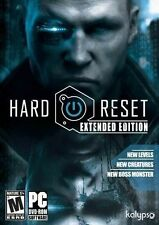 Hard Reset: Extended Edition (PC, 2012) *New,Sealed*