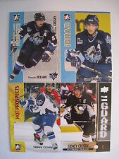 Sidney Crosby LOT OF 10 HOCKEY CARDS BV = $66.00+  ALL CARDS SHOWN IN PICTURES