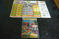 EAGLE Comic - Date 05/06/1982 - UK Paper Comic - With FREE WORLD CUP Poster