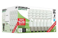 ECOBulb Plus 13-Watt (60W Equivalent) Twist CFL Light Bulbs (12-Pack)