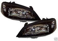 Vauxhall Astra Pair BRAND NEW BLACK Headlights Headlamps Lights LAMPS GSI SXI
