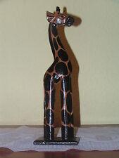 Giraffe,Holzfigur,Giraffenfigur,Bali,Afrika,Skulptur,Handarbeit,Deko,30cm hoch