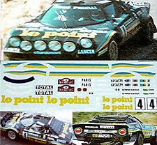 Lancia Stratos Le Point RMC 1981 1:32 Decal Abziehbild
