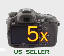 5x Clear LCD Screen Protector Guard Cover Film For Sony Alpha SLT-A77 Camer