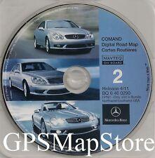 2011 Update for Mercedes CD Base Navigation Disc 2 Cover Northwest Southwest Map