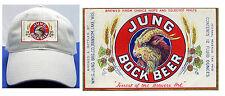 JUNG BOCK BEER LABEL BALL CAP