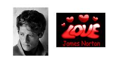 James norton love james norton celebrity acteur nouveauté tag bag 2 faces porte-clés