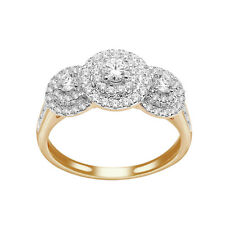 14K Yellow Gold Wedding Engagement  with 1.00 CT Diamond Ring