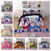 3D Sailor Moon Sailor Kids Anime Quilt Cover Bedding Set Duvet Cover Pillowcase