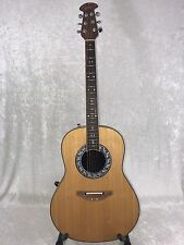 Ovation 1627VL-4 Refurbished Acoustic/Electric Guitar – Gloss Natural