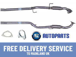 For VW Polo (9N_) 1.2 2001-2007 Klarius Exhaust Front Flexi Pipe + Fittings