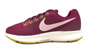 Nike Air Zoom Pegasus 34 Wide Womens Running Shoes 880561-607 Berry/Plum Size 7