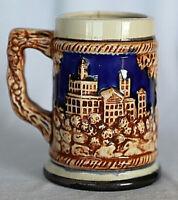 Vintage Retro Porcelain Beer Stein Tankard Mug 12 cm 350 ml