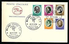 Italia 1976 : Artisti Italiani - FDC Cavallino / 1° giorno di emissione
