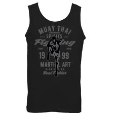 Muay Thai Sport Vest Fighting Kick Boxing Martial Work Out MMA Training D660