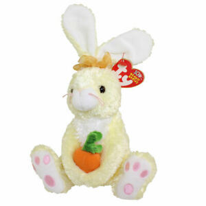 TY Beanie Baby - NIBBLIES the Yellow Bunny (6 inch) BUY NOW