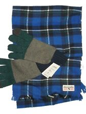 Abercrombie kids winter Gloves & Sherpa gloves & scarf set youth  L /  XL blue