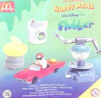 McDonalds Happy Meal Toy 1998 Flubber + Robot Plastic Character Toys - Various