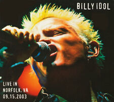 Billy Idol - Live In Norfolk, VA 09.15.2003 (2-CD) **NUMBERED LTD, EDITION**