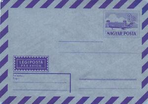 Hungary 3ft Airmail Envelope Unused VGC