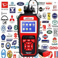 KW850 OBD II Scan Tool Check Engine Auto Car Code Reader EOBD Diagnostic Scanner