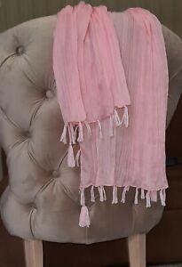 Brunello Cucinelli Womens Soft Pink Scarf